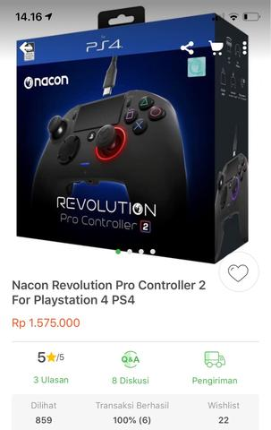NACON REVOLUTION CONTROLLER 2 STICK PS4 / PLAYSTATION4