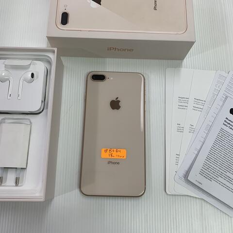 TERJUAL iPhone 8 Plus 64GB Gold Super Mulus Perfect ios 11 Garansi resmi  iBox