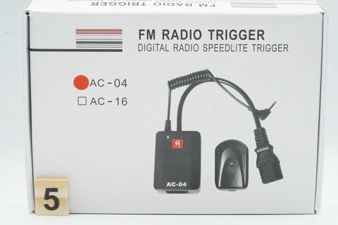 FM Radio Trigger Wireless AC-04 Digital Radio Studio Speedlite AC - 04 AC04 4 Channel
