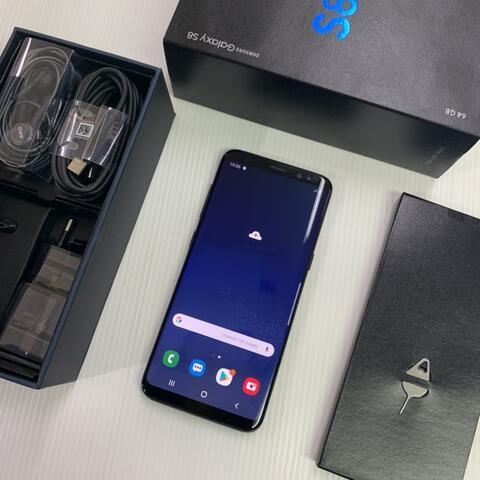 Samsung S8 Duos Black 64GB Super Mulus ex Garansi resmi SEIN