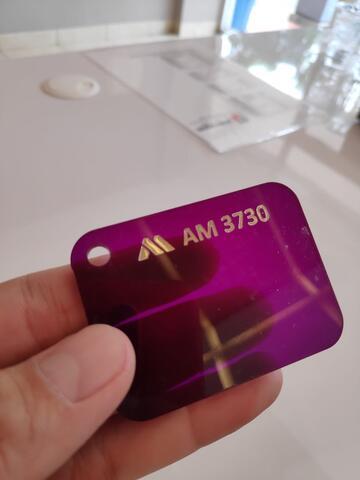 Toko acrylic lembaran Tangerang uk triplek 122x244 2mm Bening