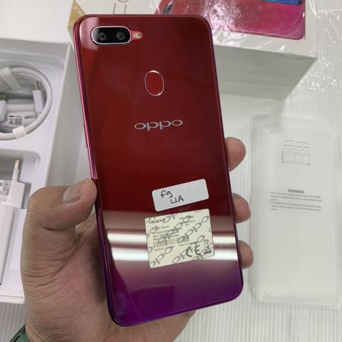 Oppo F9 Red 4/64GB Super Mulus no minus Fullset Acc belim disentuh