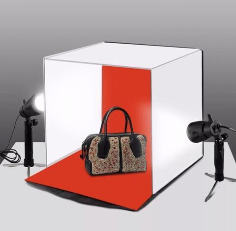 Puluz 40cm Box Lipat LED - Folding Portable Lighting Studio Shooting Light Photo