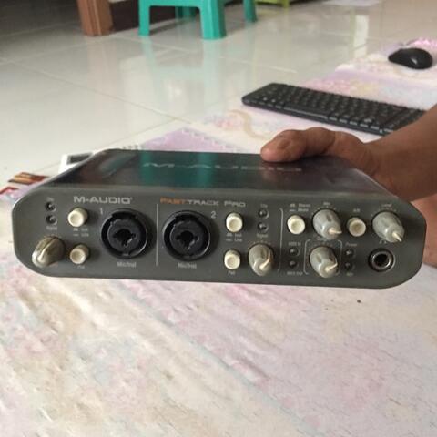 M audio fasttrac pro