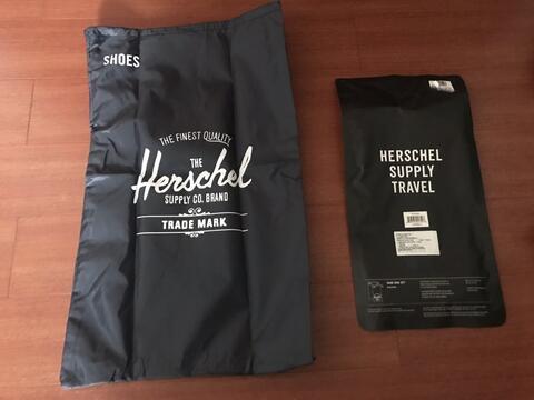 Shoe bag Herschel 100% new original navy