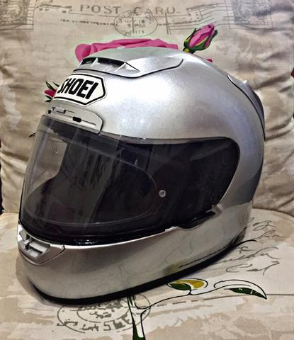 Helm Shoei X11 Silver Mulus Agv Nolan Arai