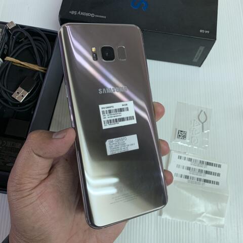 Samsung Galaxy S8 Plus 64GB Duos Mapple Gold Super Mulus ex Garansi SEIN