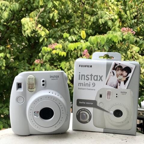 Fujifilm Instax Mini 9 Kamera Polaroid Fuji Kamera Polaroid - White