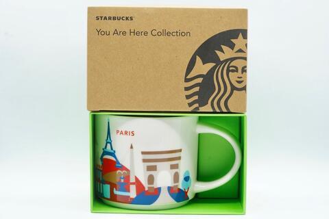 Starbucks Paris France You Are Here Mug Mugs Collection YAH 14 oz 414 ml