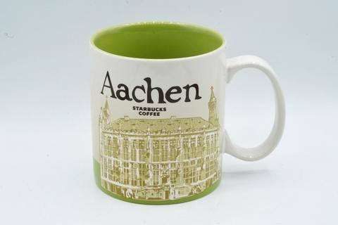 Starbucks Aachen Munster Hannover Freiburg German Germany Mug Iconic 16 oz 473 ml