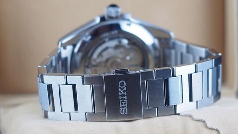 SEIKO PRESAGE SARX045 AUTOMATIC BLUE TUXEDO STEEL 40MM