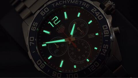 TAG HEUER FORMULA 1 CHRONOGRAPH QUARTZ BLUE DIAL 43MM