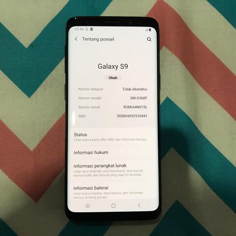 Samsung Galaxy S9 single sim 64gb second
