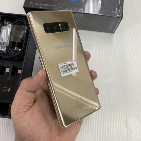 Samsung Note 8 Duos 64GB Gold Super Mulus Perfect ex Samsung singapore