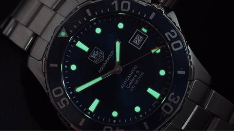 TAG HEUER AQUARACER 300M AUTOMATIC CALIBRE 5 BLUE DIAL 41MM