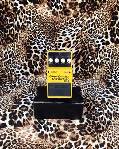 BOSS OS2 OS-2 Overdrive Distortion Pedal