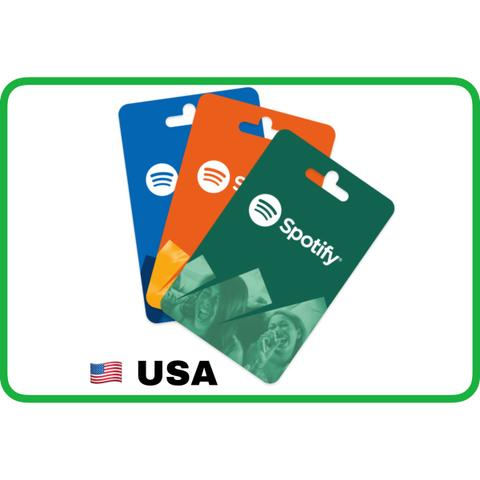 Spotify gift card / spotify premium region US $10, $30, $60 - ibanezblack.store