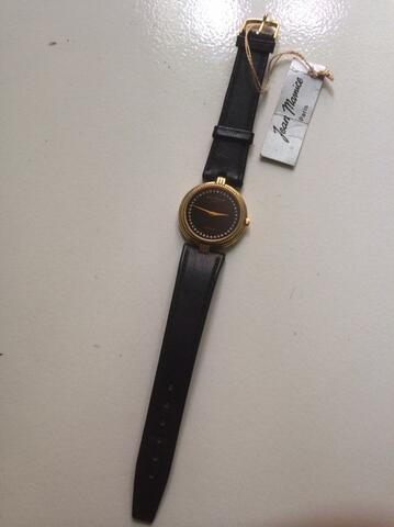 JEAN MAURICE Paris U7002GP with Leather Strap Watch (NOS) ORIGINAL
