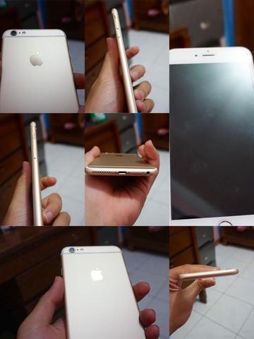 jual iPhone 6s Plus 64gb Gold