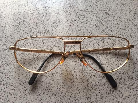 Kacamata Sunglasses TIFFANY LUNETTES 23 Goldplated ORIGINAL Italy Made
