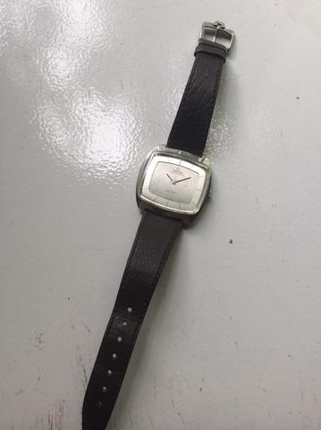 OMEGA DeVille Automatic Cal 711 with Leather Strap Watch ORIGINAL Swiss Made
