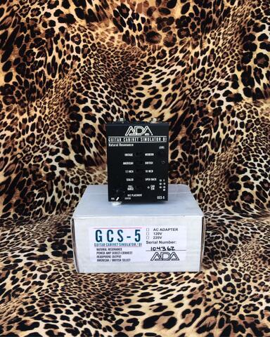 ADA GCS5 GCS 5 Guitar Cabinet Simulator DI