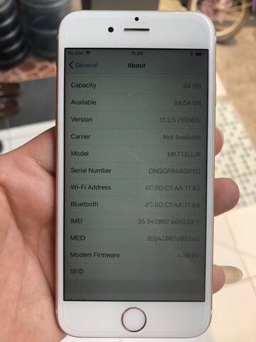 iPhone 6s 64GB gold 100% original bukan rekondisi Mulus Lengkap