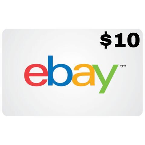 Ebay Gift Card USA $5 $10 $15 $25 $50 $100