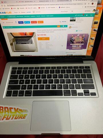 Jual Macbook Pro 2012 i5 Upgrade!