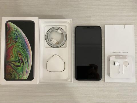 [GPL] iPhone XS Max 256Gb dual nano HK Space Grey Fullset ori like new bgt
