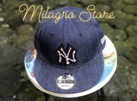 Topi NEW ERA NY japanese denim