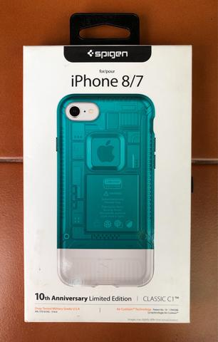 Spigen Classic C1 for iPhone 7 / 8 Bondi Blue