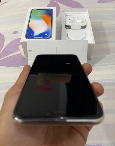 IPHONE X 256GB WHITE MULUS COMPLETE