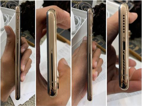 iPhone XS max 256gb gold fullset ori mulus