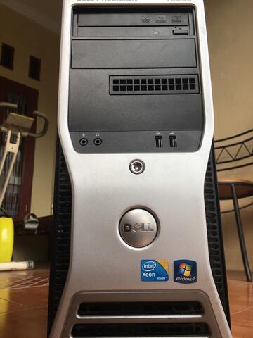 Dell WorkStation Precision T3500 Intel Xeon PC Server