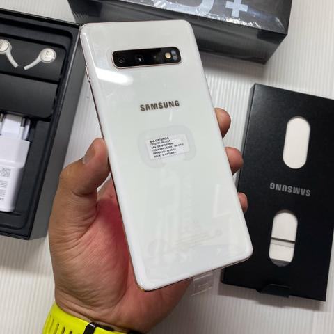 Samsung Galaxy S10 Plus 10/512GB White Ceramic Super Mulus Garansi SEIN