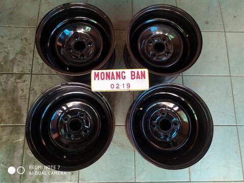velg kaleng custom r14 pcd 4x114 lbr 8 et 0