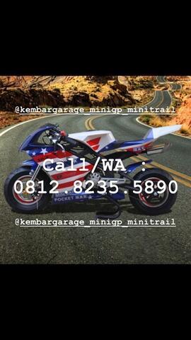 NEW MOTOR MINI GP BLATA CHINA 50cc