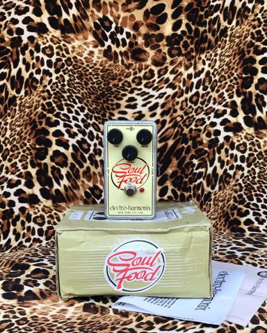 Electro Harmonix EHX Soul Food Transparent Overdrive Pedal