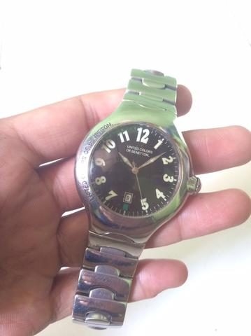 UNITED COLORS OF BENETTON (UCOB) All Stainless Steel Watch ORIGINAL