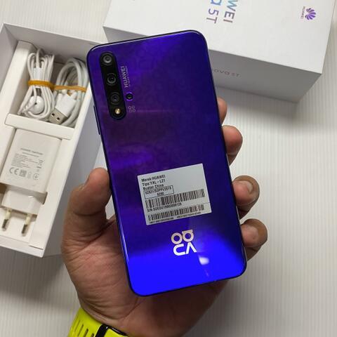 Huawei Nova 5T 8/128GB Super Mulus like new Fullset Garansi resmi indonesia