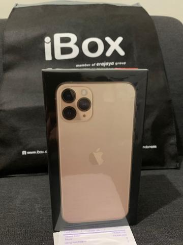 iPhone 11 Pro 64Gb Gold. BNIB Greenpeel. Garansi Resmi iBox.