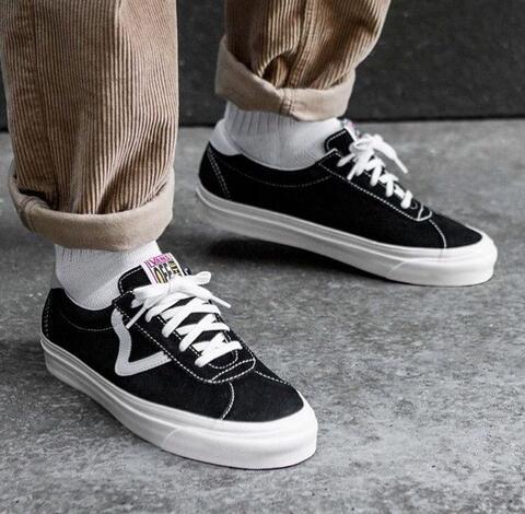 """Vans Style 73 DX Anaheim Factory """" Black White """""""