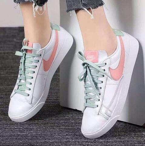 """Nike Blazer Low Le """" White Pink Mint """""""