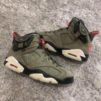 "Nike Air Jordan 6 x Travis Scoot "" Green """