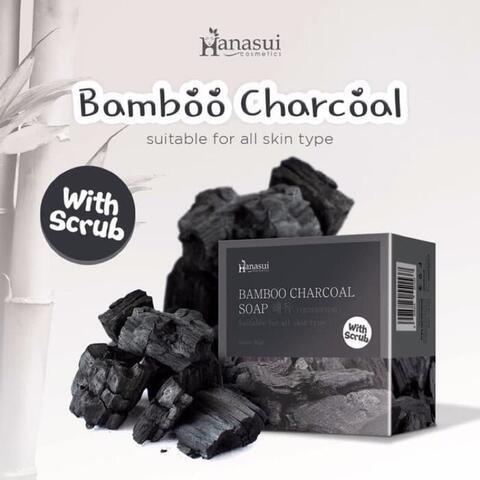 BPOM Hanasui Soap with Scrub Sabun Hanasui 60Gram