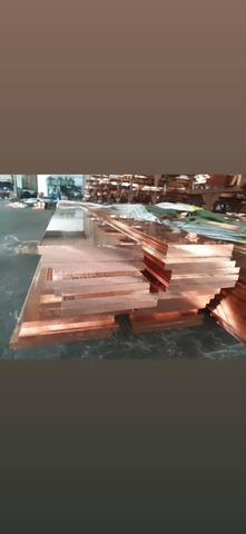 Flat Busbar 3 x 15 mm panjang 4 meter