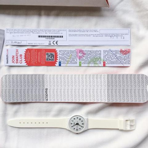 Jam Tangan Swatch SUAN100D Warna Putih
