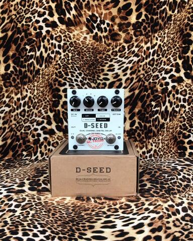 Joyo Dseed D Seed Dual Channel Digital Delay Pedal