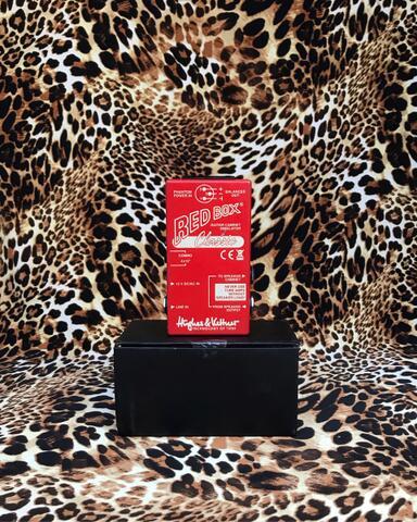 Hughes And Kettner HK Red Box Classic DI Box With Cabinet Simulator
